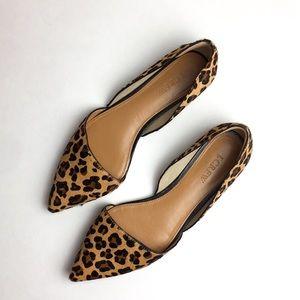 J. crew leopard print shoes